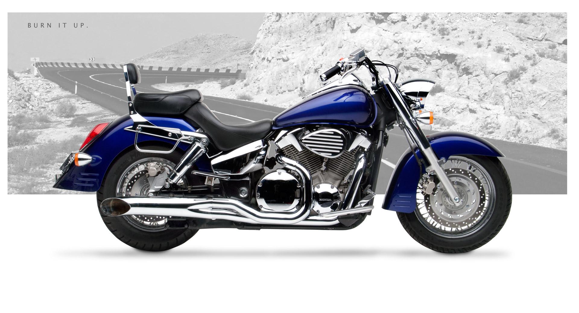 Honda VTX1300RS 200309 Motorcycle Exhaust  HardKrome