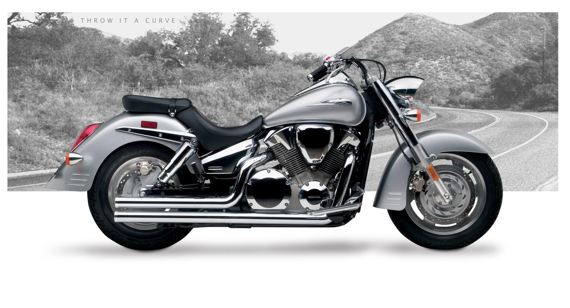 Honda vtx1300r s motorcycle exhaust american classic ii for Yamaha dealers in vt