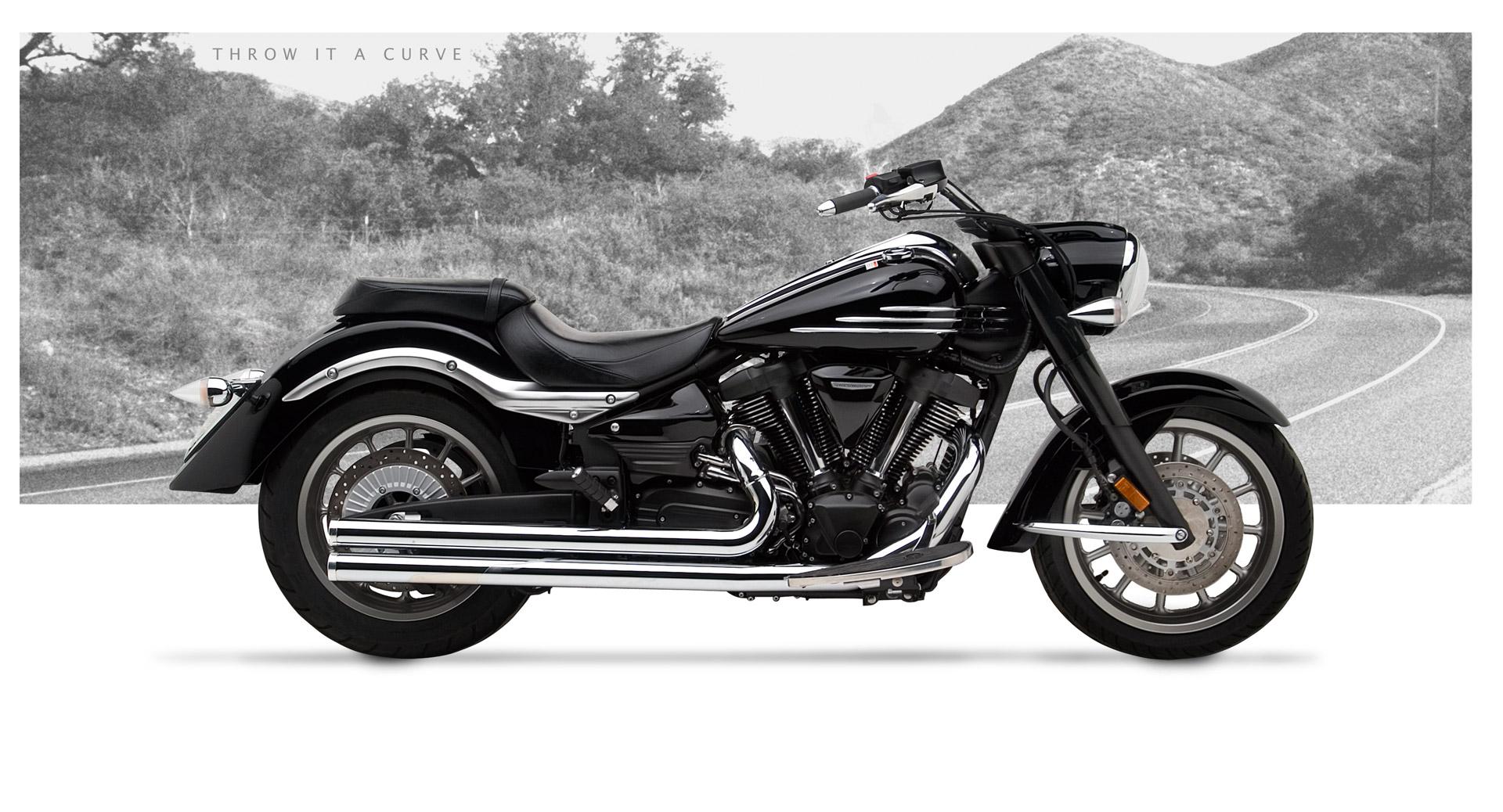 Yamaha Roadliner 1900 Motorcycle Exhaust - American Classic II ...