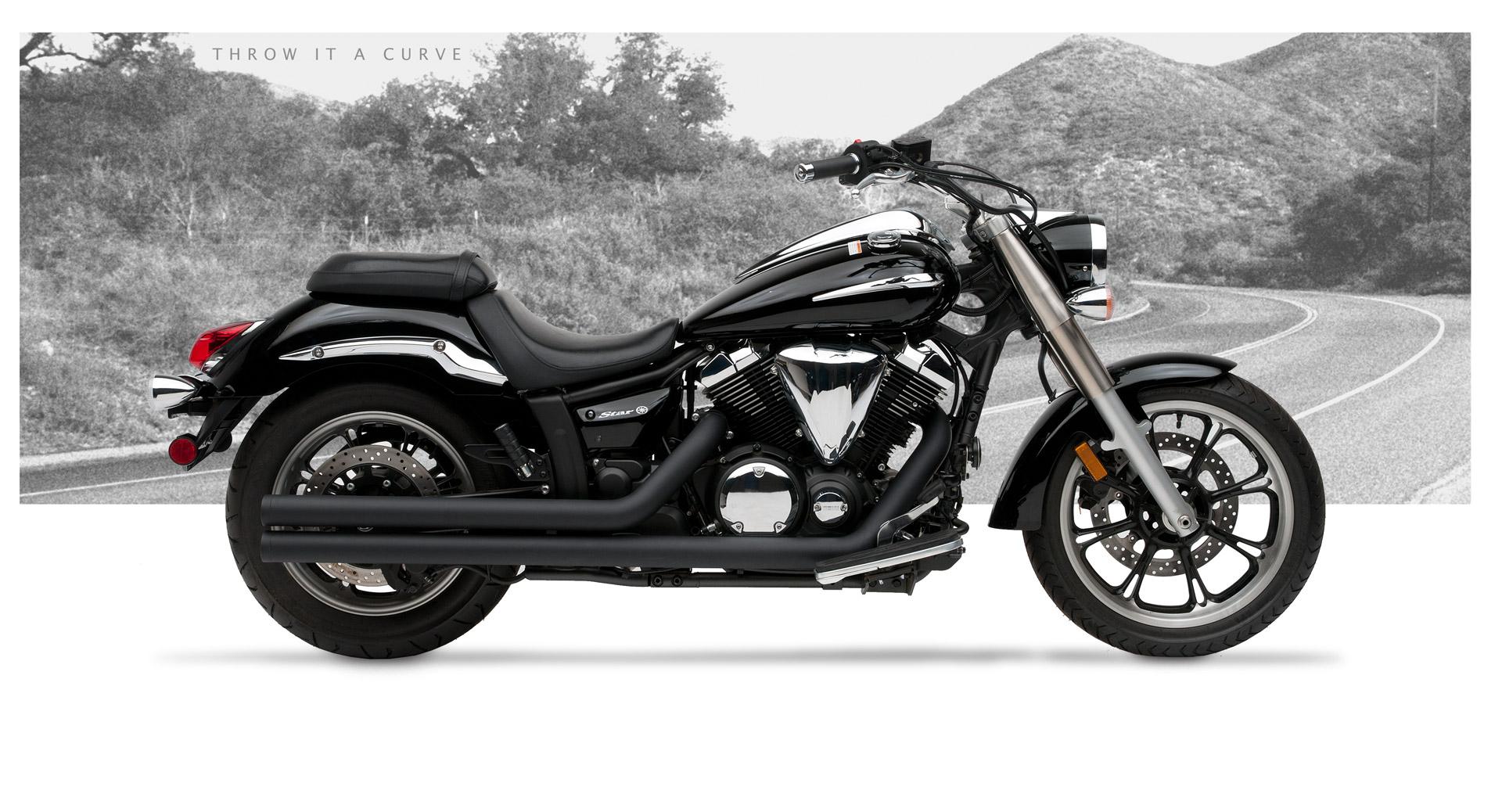 Yamaha V Star 950 2009-12 Motorcycle Exhaust | Hard-Krome
