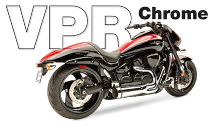 Motorcycle Exhaust Systems - Hard-Krome, guaranteed not to blue